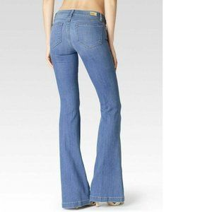 PAIGE Legacy FIONA Wide Leg Flare Jeans Maddie 28